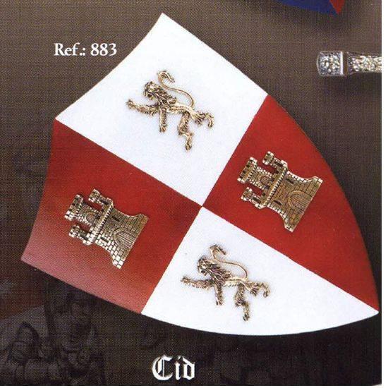 Art Gladius 883 Mini Escudo del El Cid Campeador