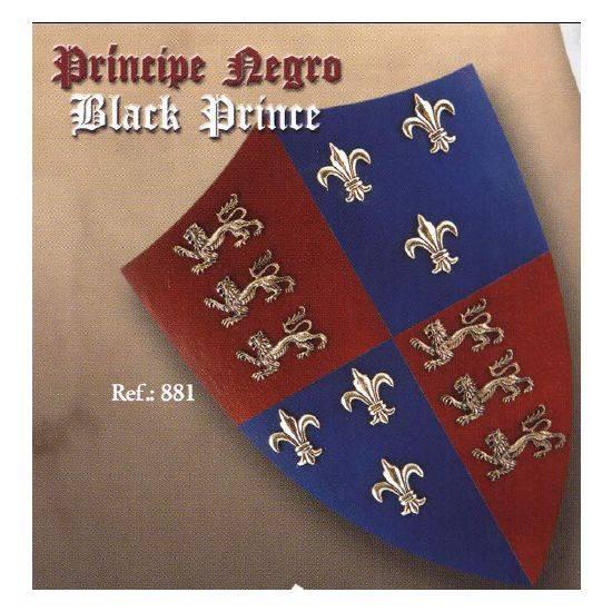 Art Gladius 881 Mini Escudo Príncipe Negro